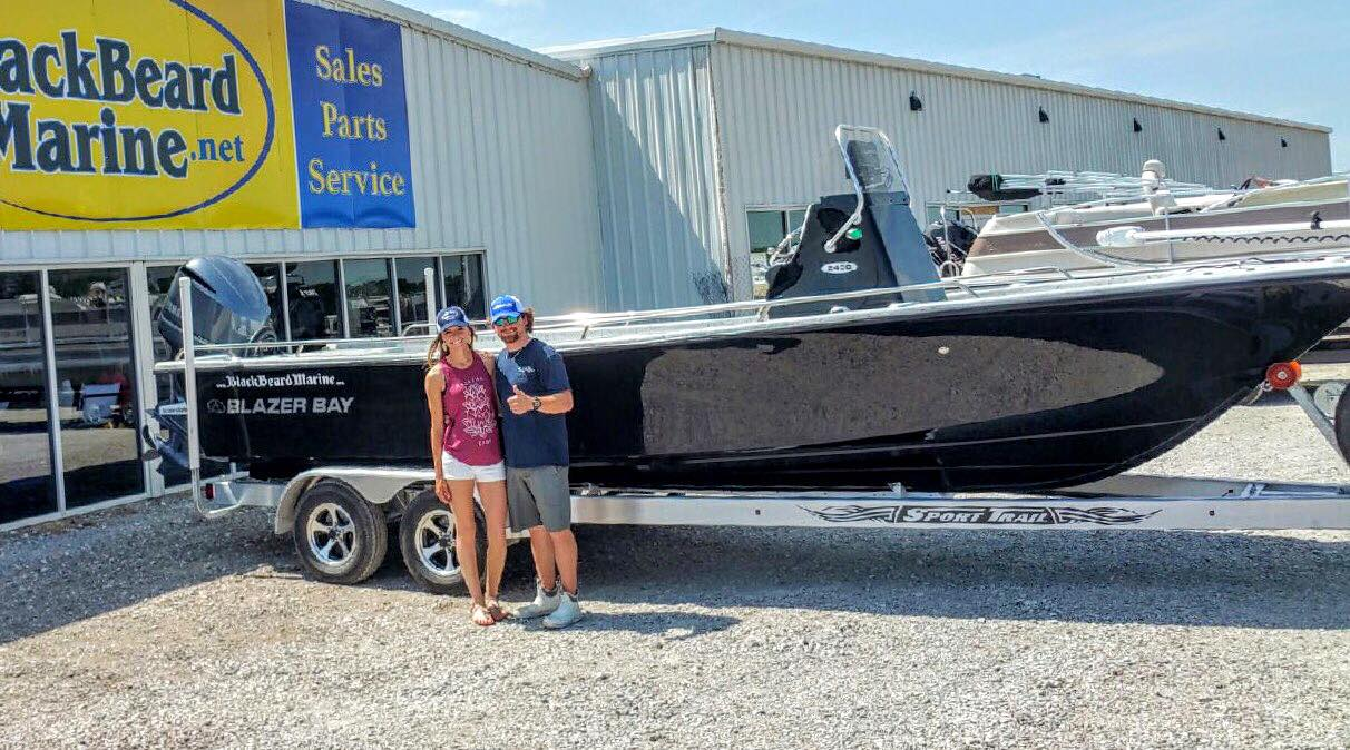 New Blazer Bay Boat, Lake Tawakoni Guide