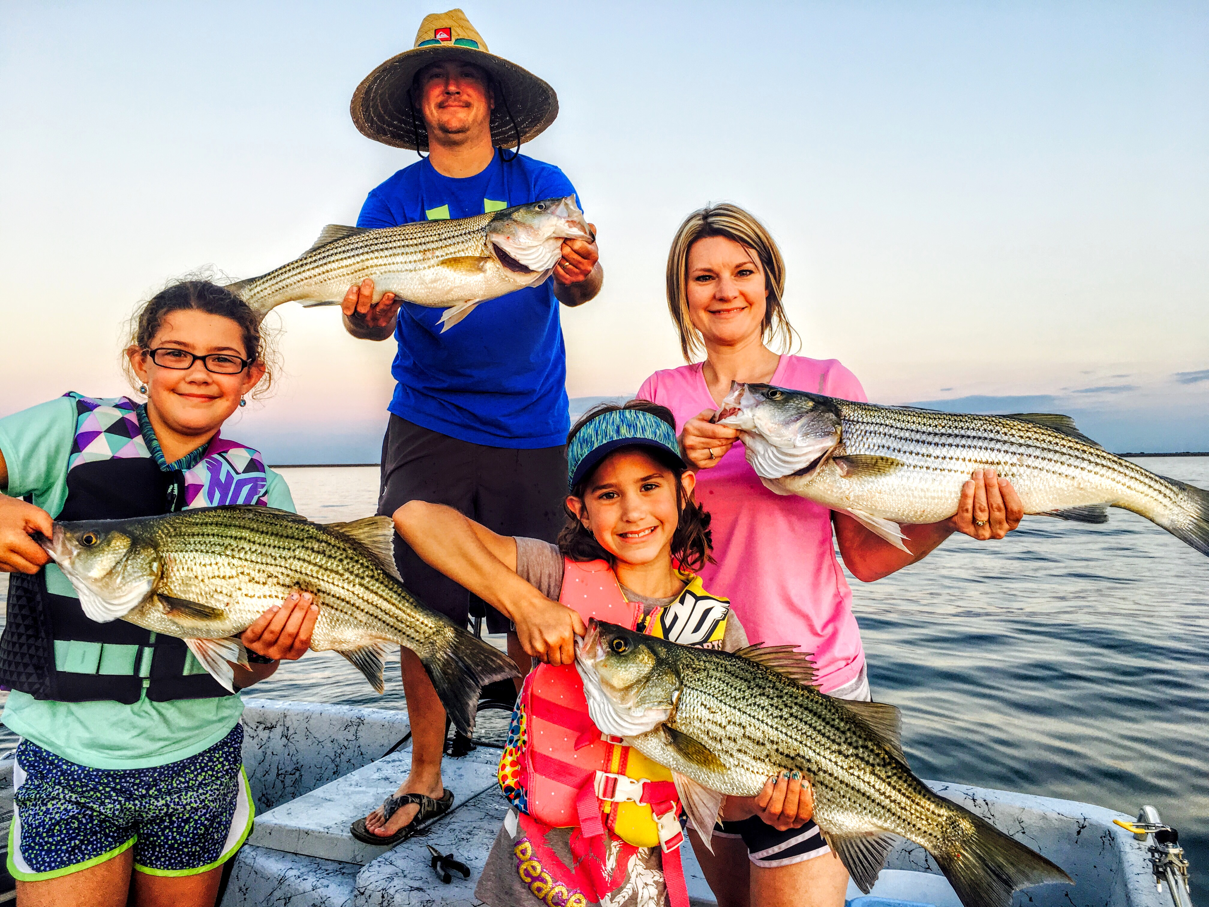 Lake Tawakoni Fishing Guide Andrew Taylor, Striper Guide