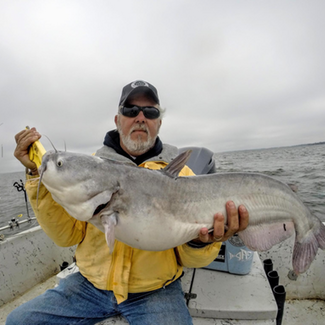 Lake Tawakoni Guide, Andrew Taylor, Trophy Blue Catfish